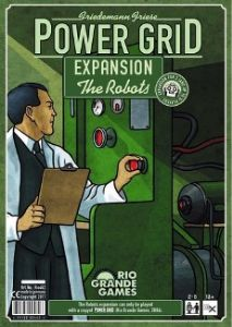 Power Grid : Expansion - The Robots